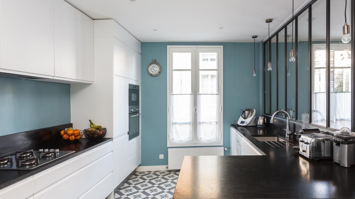 cuisine equipee ancien appartement design