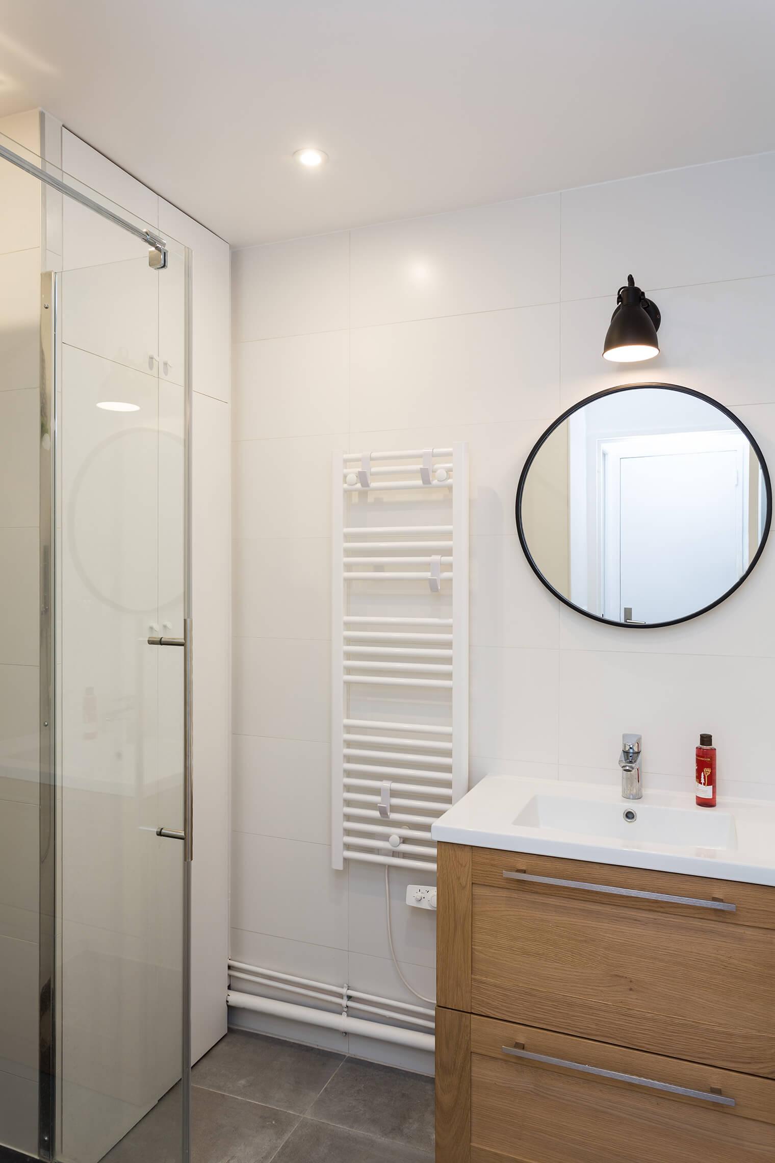 Déco salle de bain style épuré