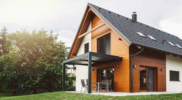 Maison d'architecte en bois