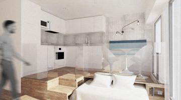 Rénovation studio avec optimisation de l'espace