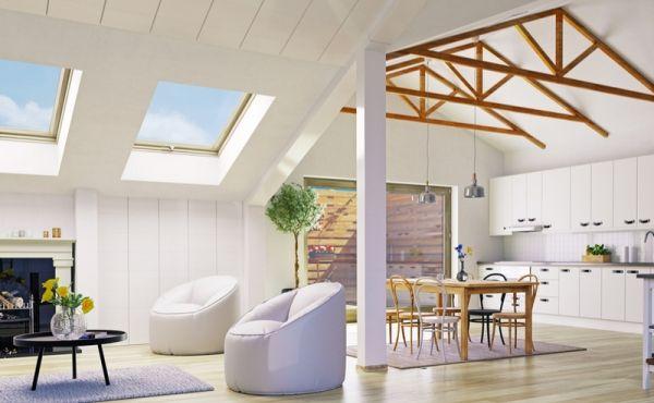 fen tre de toit velux guide dimensions et prix velux. Black Bedroom Furniture Sets. Home Design Ideas