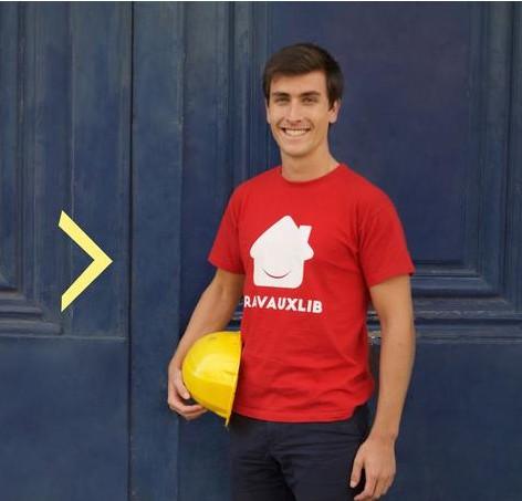 Matthieu Burin CEO Travauxlib