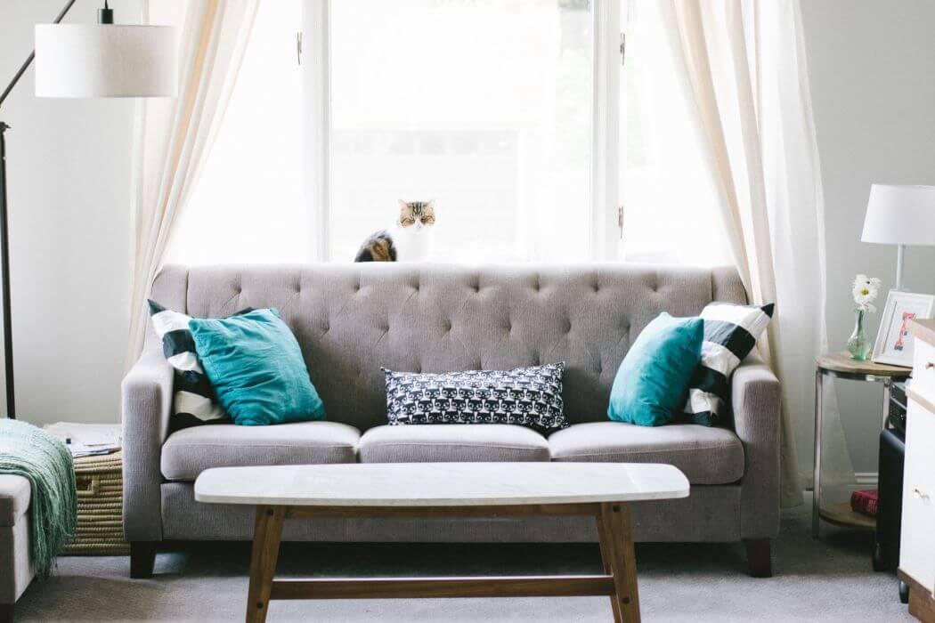 Canapé trendy pour une decoration d'interieur