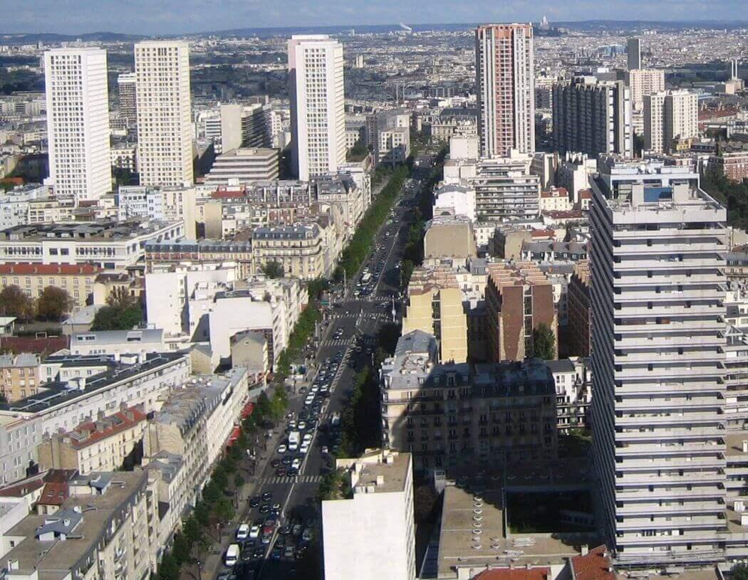 Architecture des Trente Glorieuses - Tours Paris 13e