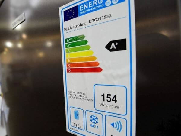etiquette classe energetique electromenager