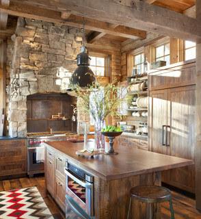 relooking cuisine rustique