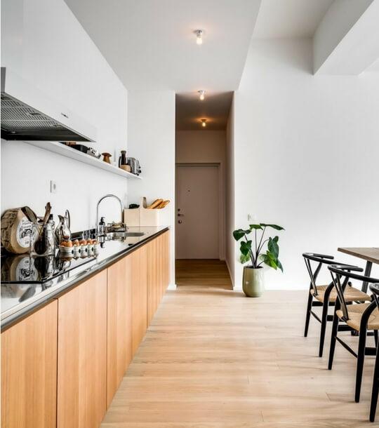 Cuisine et salle à manger d'architecte