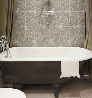 renovation salle de bain baignoire sabot