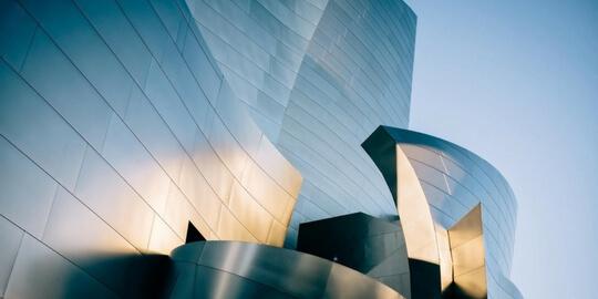 Architecture moderne d'extérieur