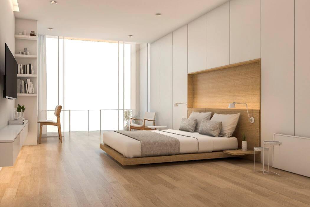 Rénovation d'une chambre dans un appartement