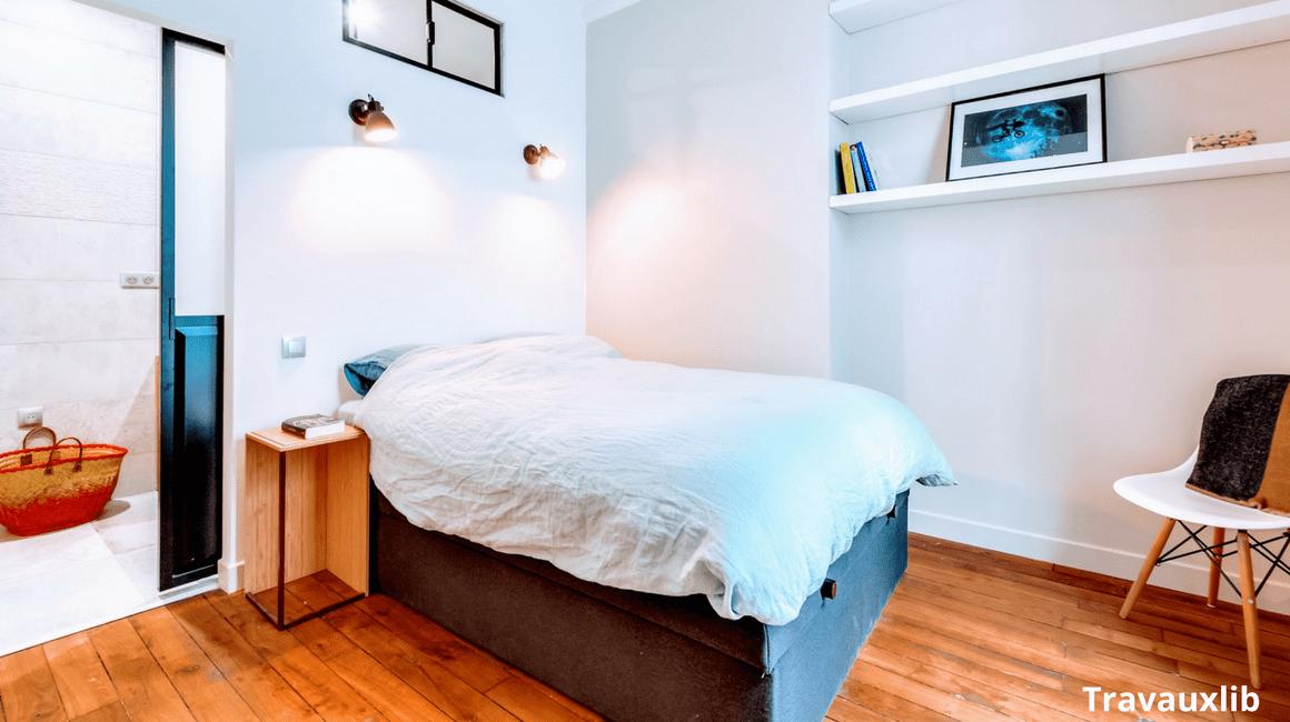 renovation appartement chambre verriere atelier