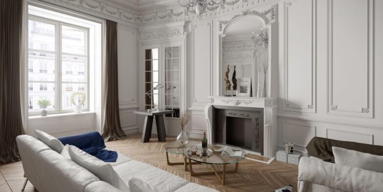 Prix peinture au m² pour un appartement T4 de 75 m²