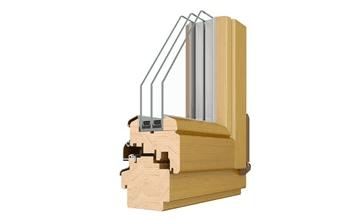 Fenetre de toit en bois