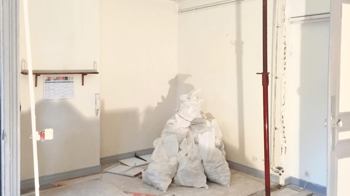 demolition cuisine ouverte