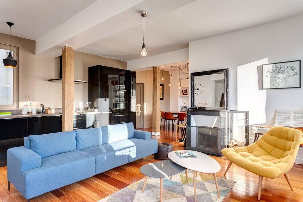 Renovation D Un Appartement Peintures Verriere Et Salle
