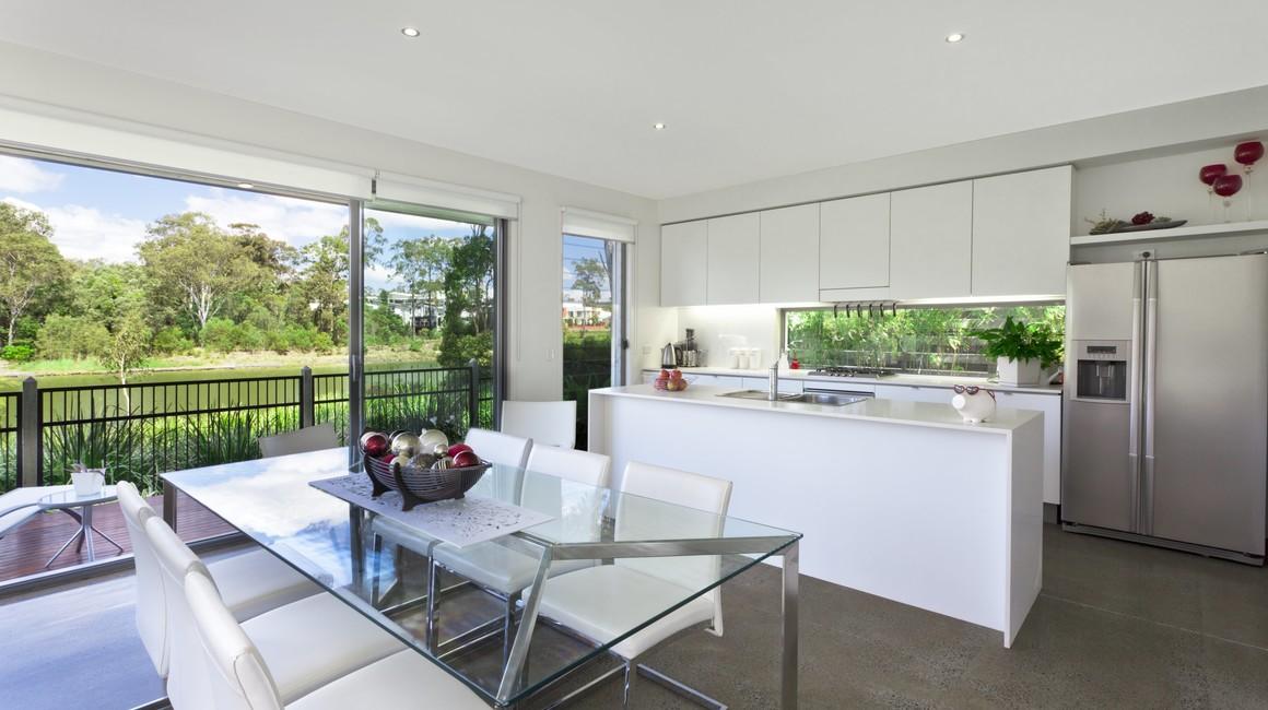 renovation cuisine design blanche