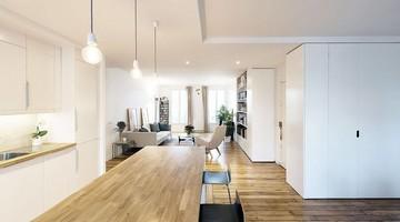 Fusion de deux appartements haussmanniens