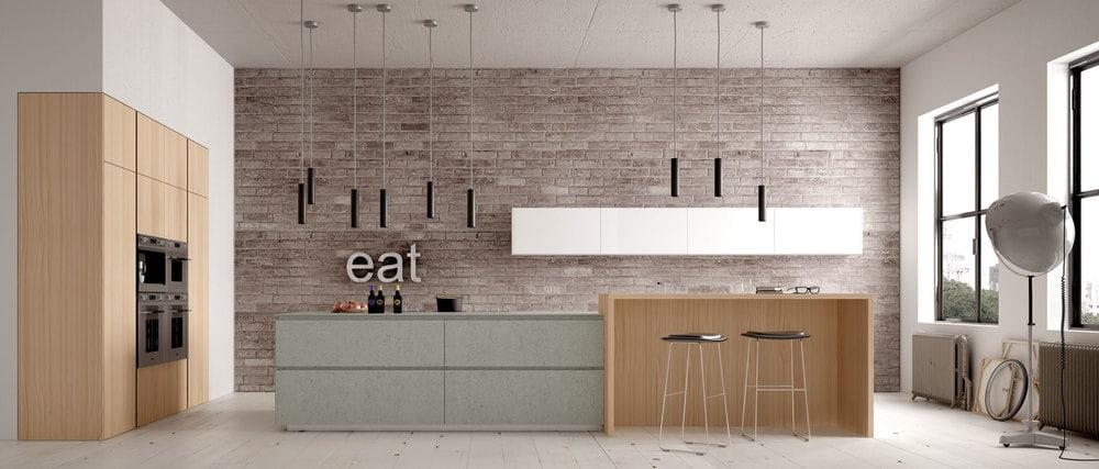 cuisine Jacq moderne, ambiance loft
