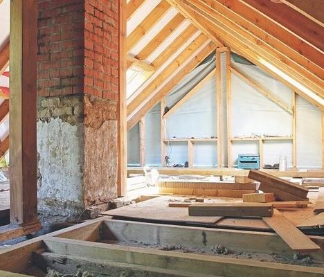 renovation combles maison