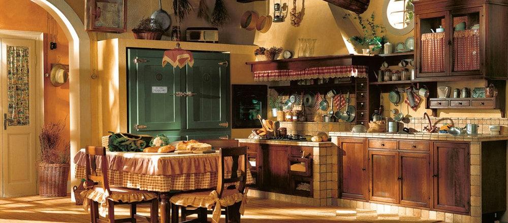 Cuisine rustique Marchi cucine, Doralice