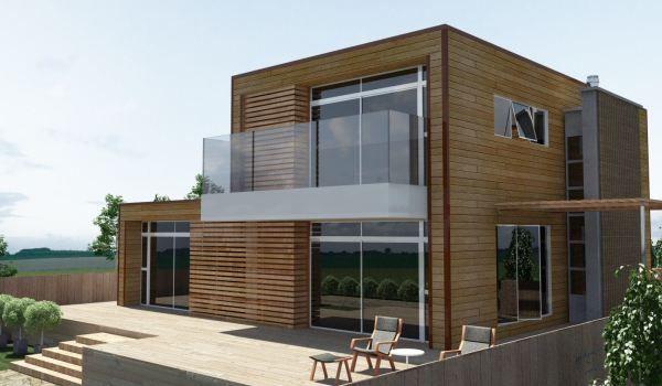 Choix architecturaux maison en bois