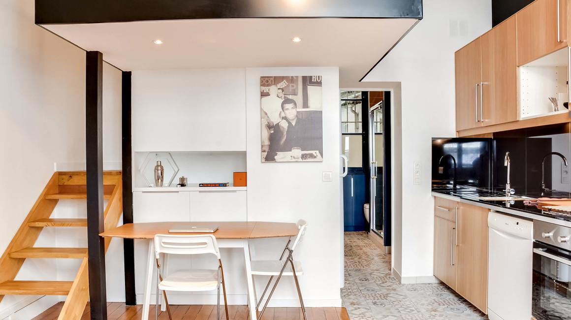 renovation cuisine studio travauxlib