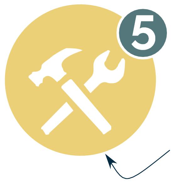 Etape 5 - Pose du revêtement au sol