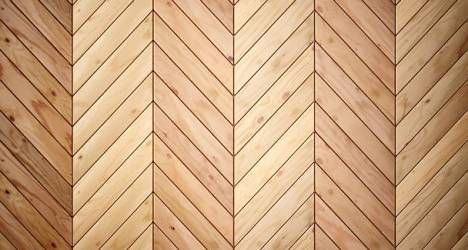 Pose de parquet chevrons ou point de Hongrie