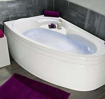La baignoire en angle pour votre salle de bain for Petite baignoire angle