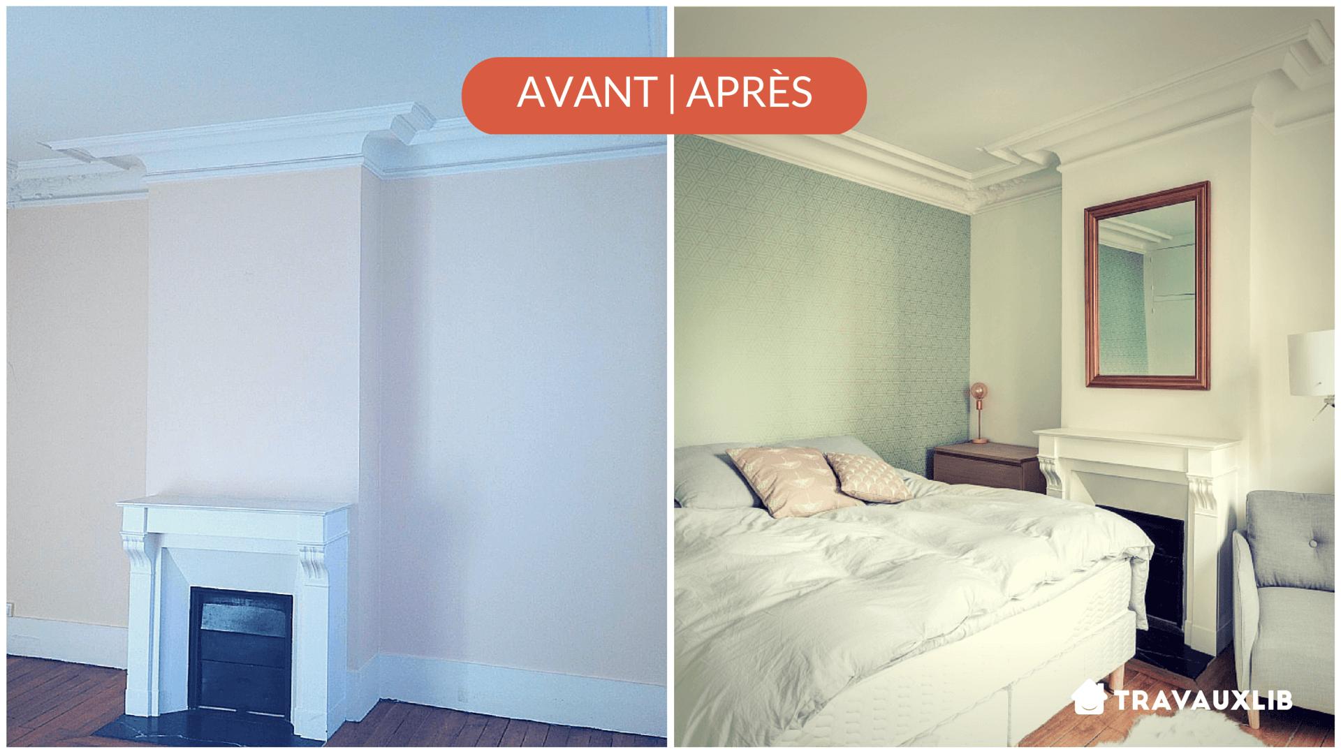 rénovation chambre à Paris