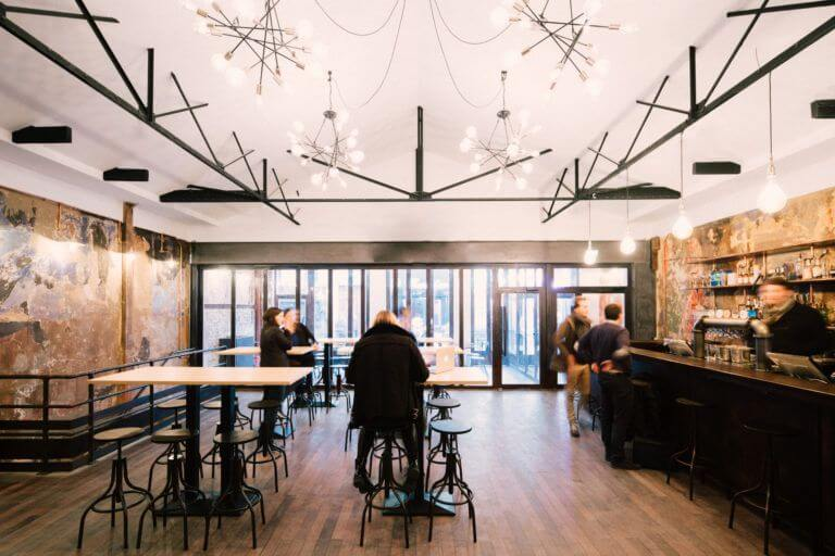 Rénovation d'un café à Paris - Déco intérieure