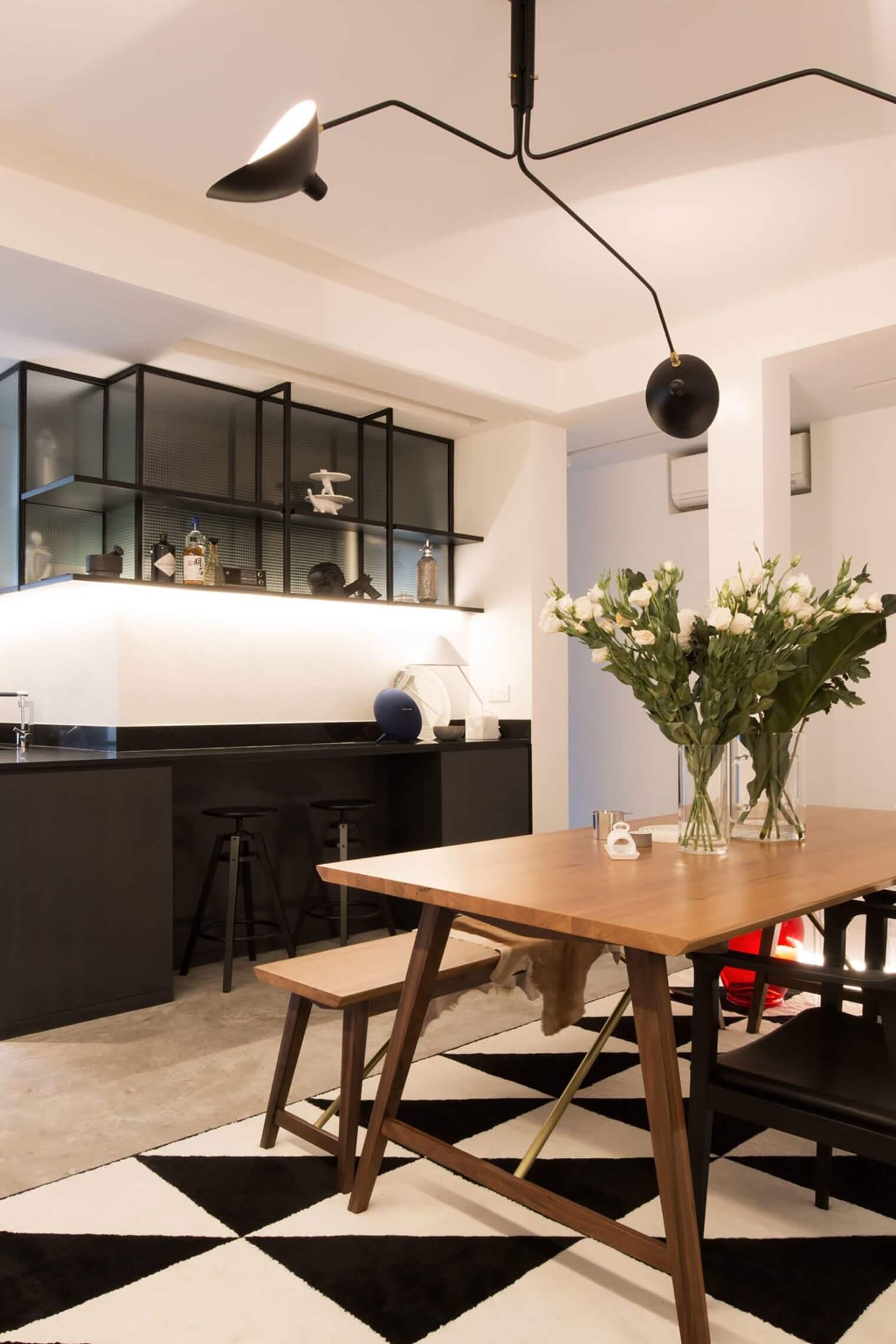 Déco salon-salle à manger moderne