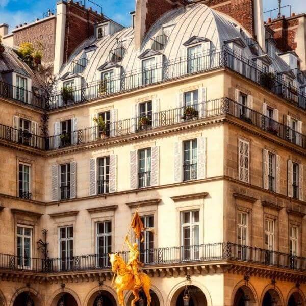 Architecte des Bâtiments de France - Façade immeuble haussmannien