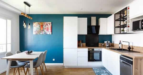 Appartement avec ambiance boisée et sobre