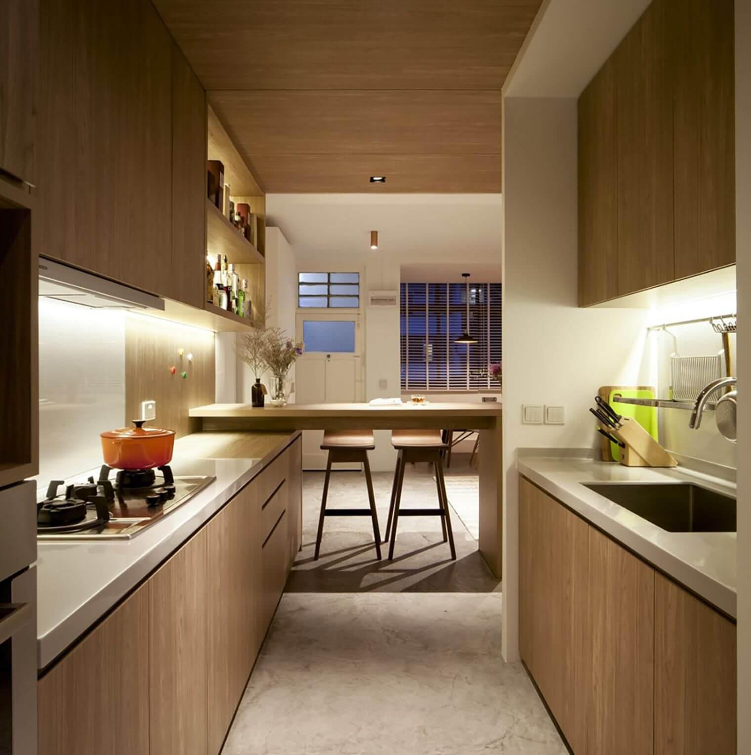 Rénovation cuisine zen