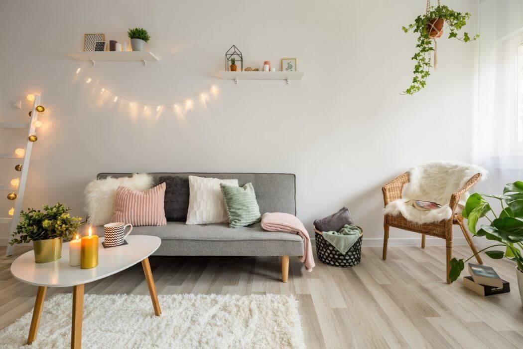 Style de decoration à tendance scandinave