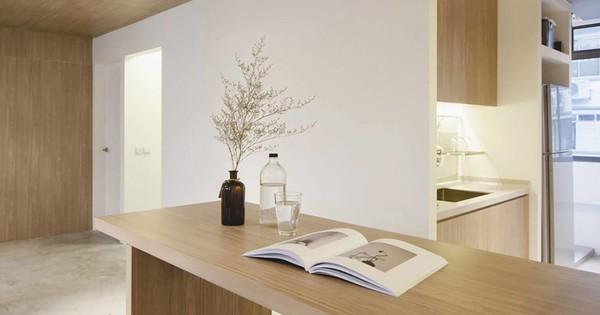 Appartement rénové au style zen