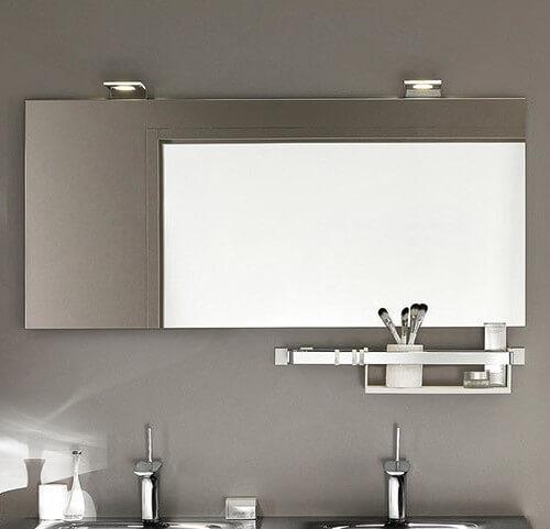 Miroir salle de bain vasque double travauxlib