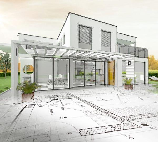 Permis de construire avec un architecte