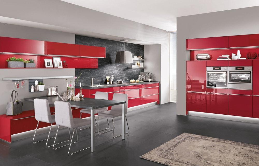 cuisine Nobilia rouge
