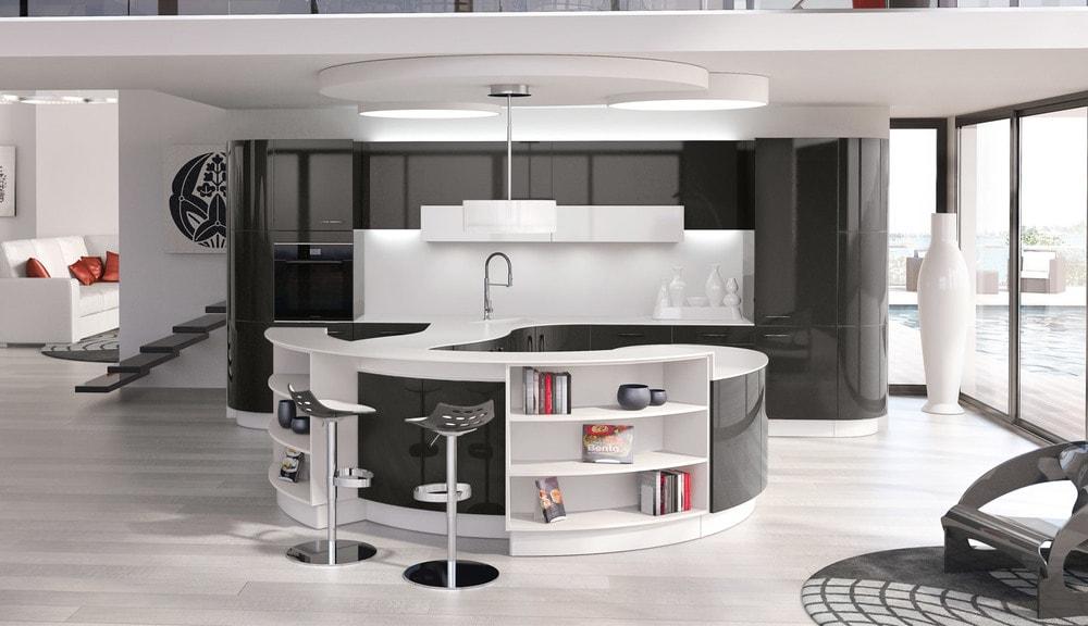 cuisine Perene avec ilot design