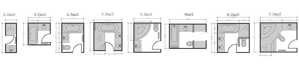 Am nagement de salle de bain travauxlib for Plan amenagement salle de bain 6m2
