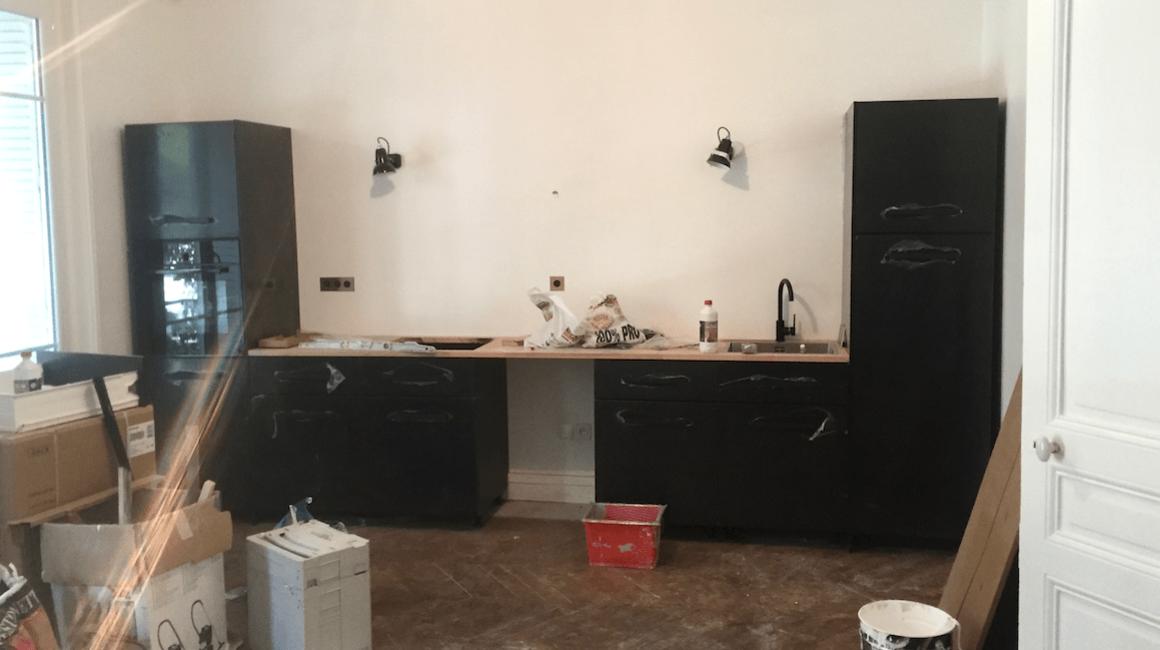 construction cuisine équipée