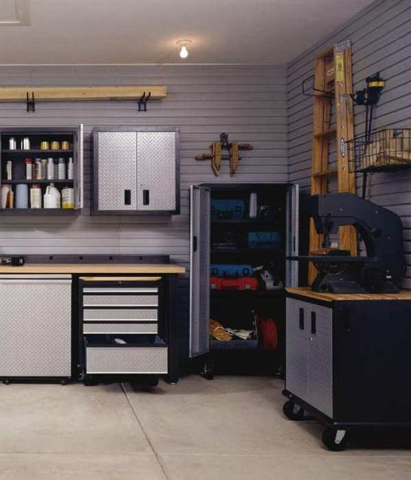 am nagement rangement garage guide complet. Black Bedroom Furniture Sets. Home Design Ideas