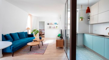 Appartement rénové au style scandinave