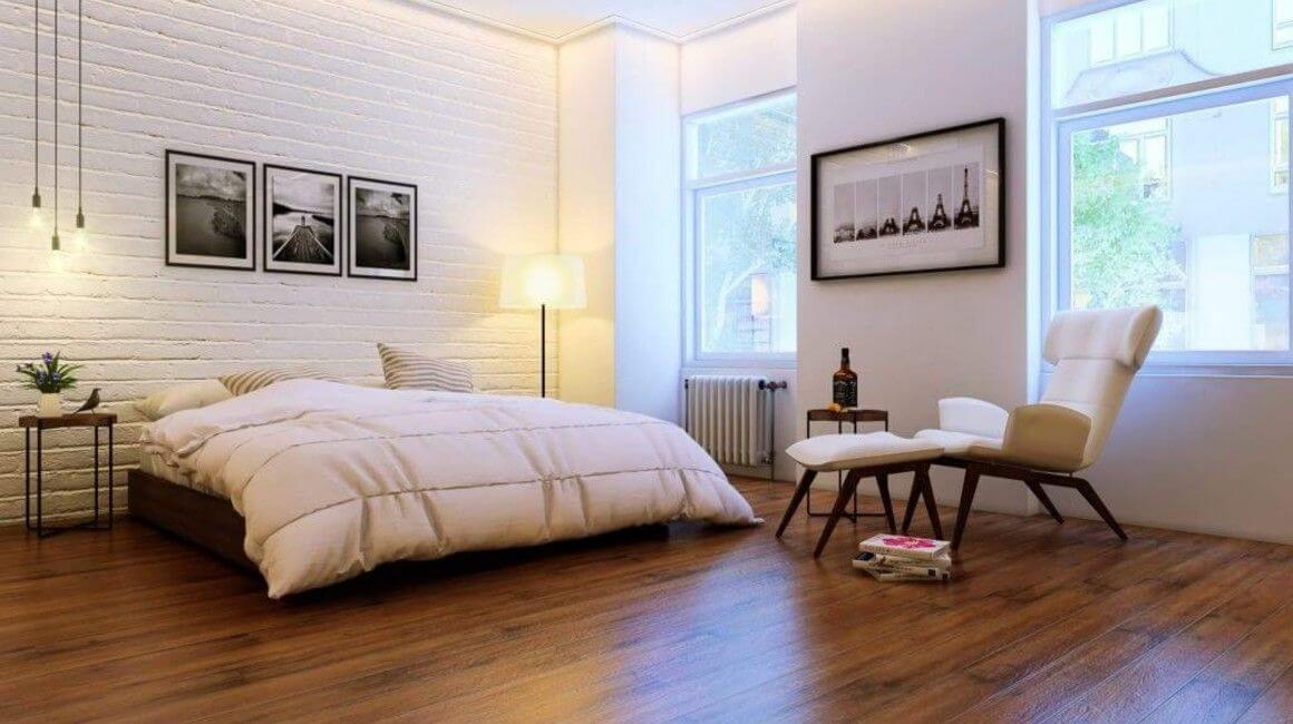 perspective 3D d'une chambre