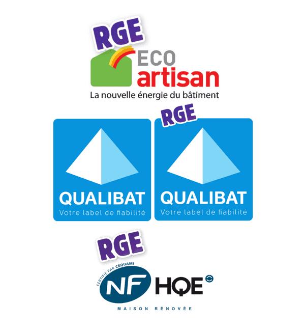 entreprise de batiment renovation RGE