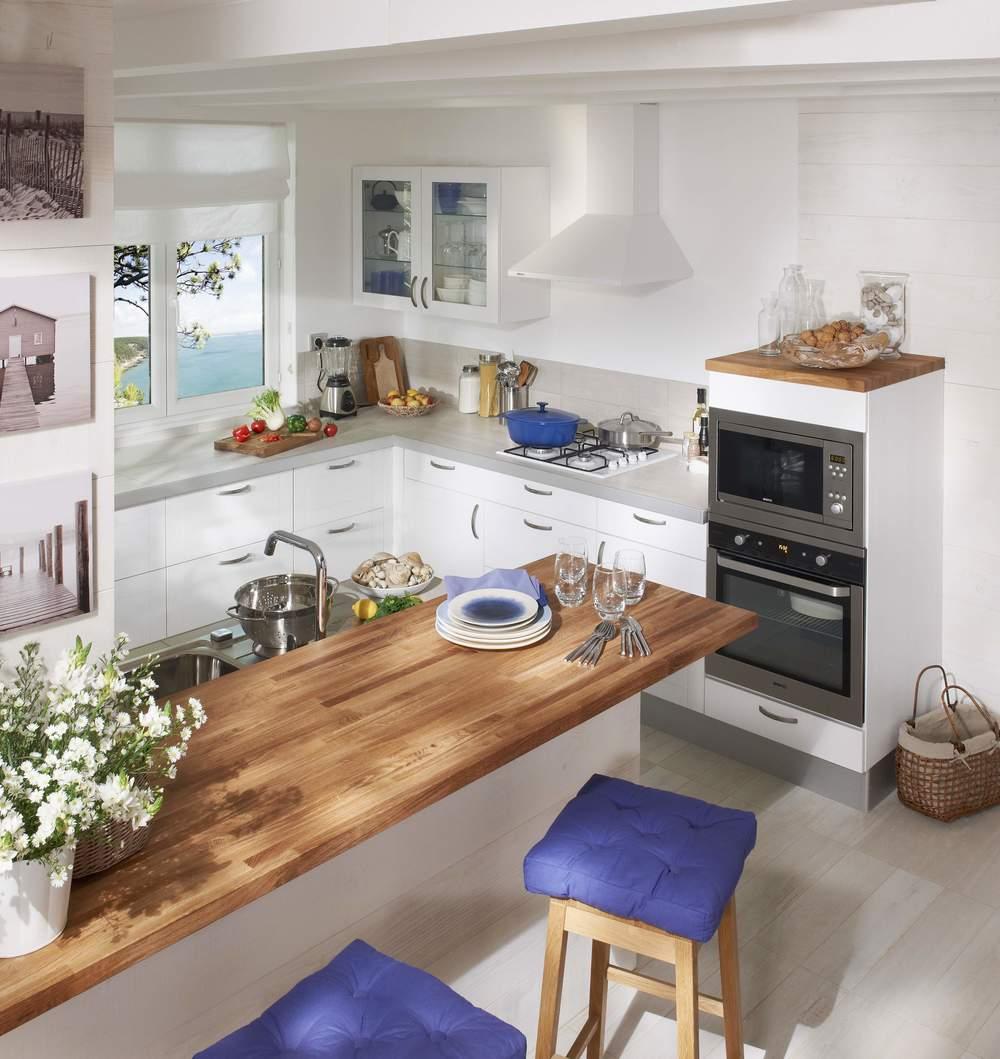 relooker sa cuisine photos et id es d co travauxlib. Black Bedroom Furniture Sets. Home Design Ideas