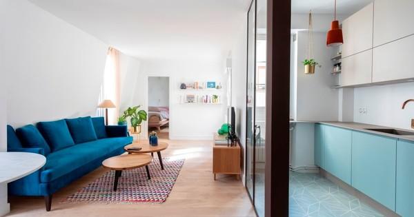 Appartement rénové au style scandinave