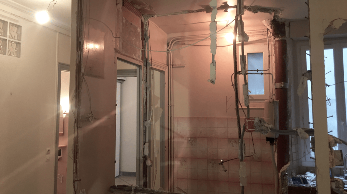 demolition toilettes